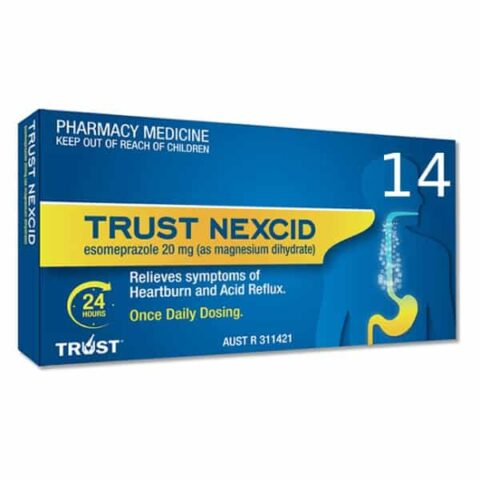 TRUST NEXCID 14 Enteric Coated Tablets