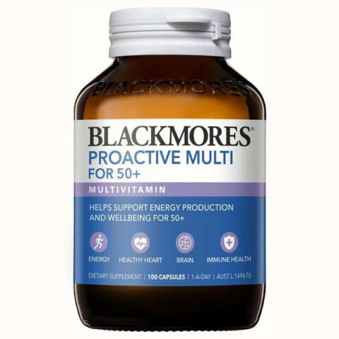 Blackmores Proactive Multi For 50+ 100 Capsules