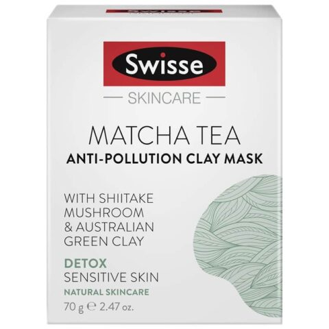 Swisse Matcha Tea Anti-Pollution Clay Mask 70g