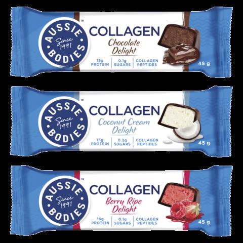 Aussie Bodies Collagen Protein Bar 45g