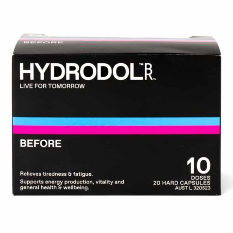 Hydrodol Before Hangover Relief 10 Doses (20 Capsules)
